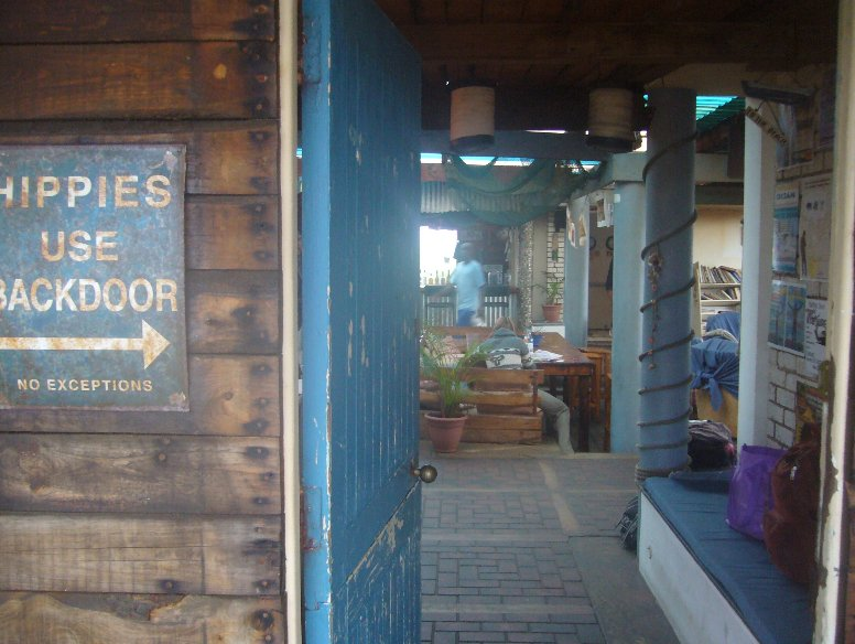 Backpackers hostel in Knysna, South Africa