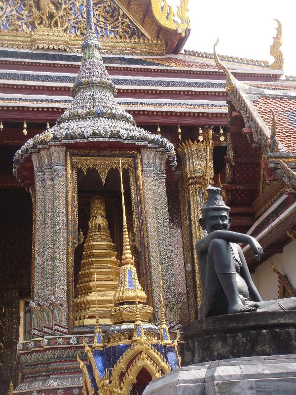 Amazing hand crafted temple detaills, Thailand