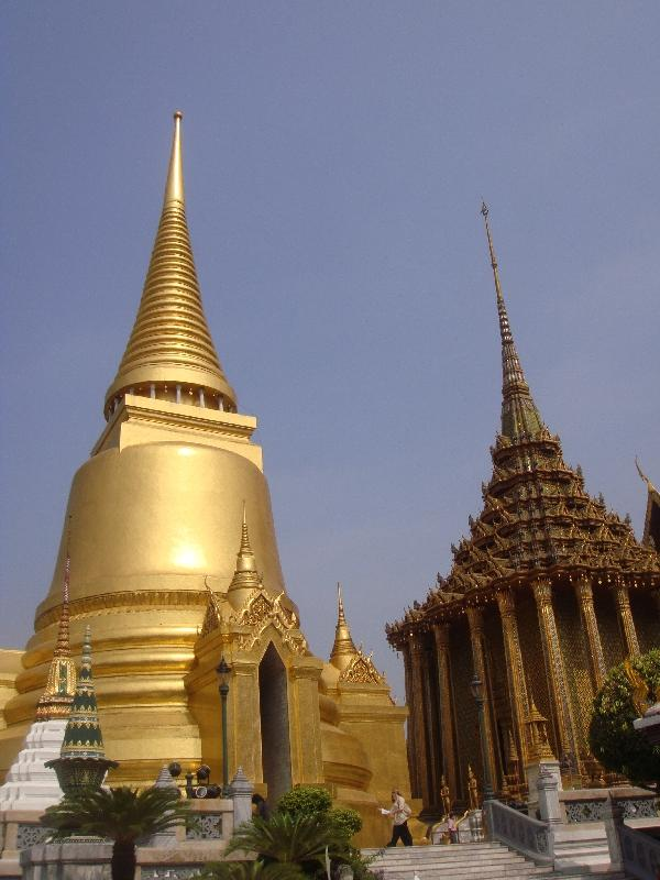 Golden Chedi in Bangkok, Thailand