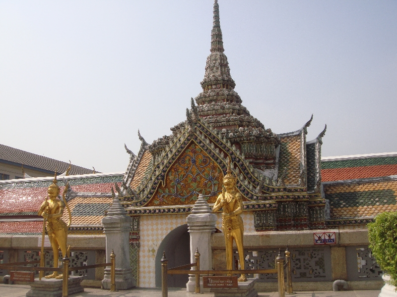 The Kings Grand Palace in Bangkok, Thailand