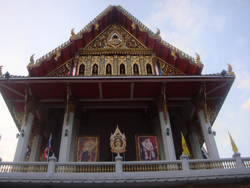 Temple in Chinatown, Bangkok, Thailand
