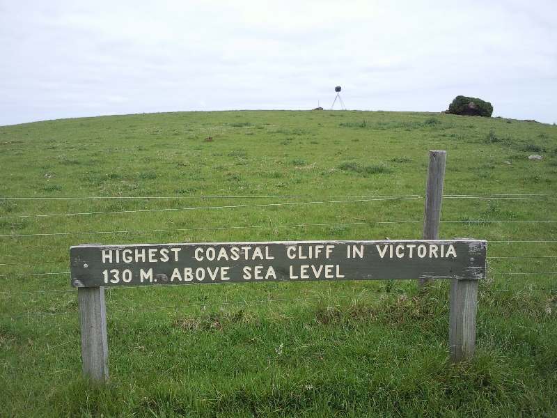The highest Hill in Victoria, Cape Bridgewater Australia
