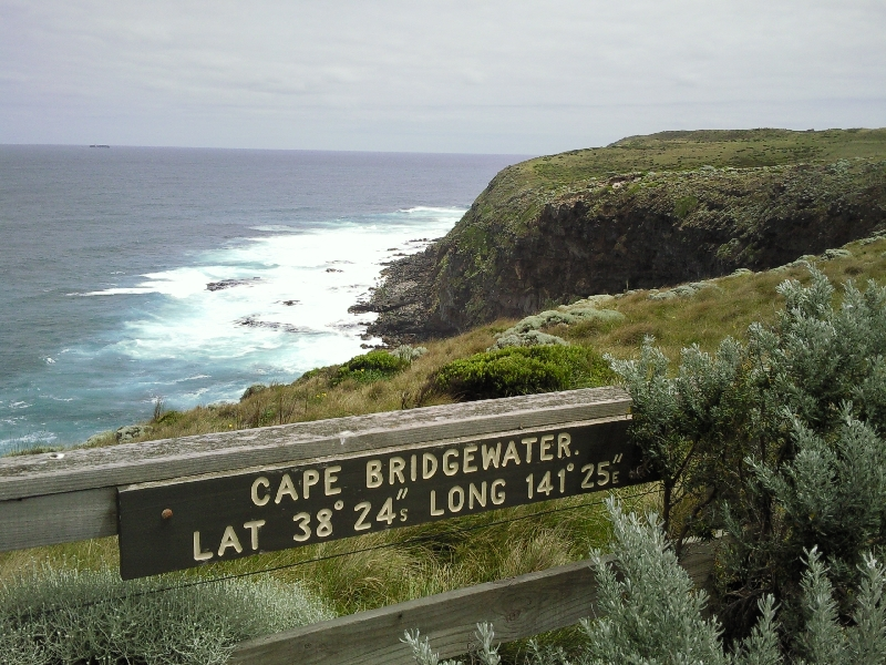 The very far end of the cape, Cape Bridgewater Australia