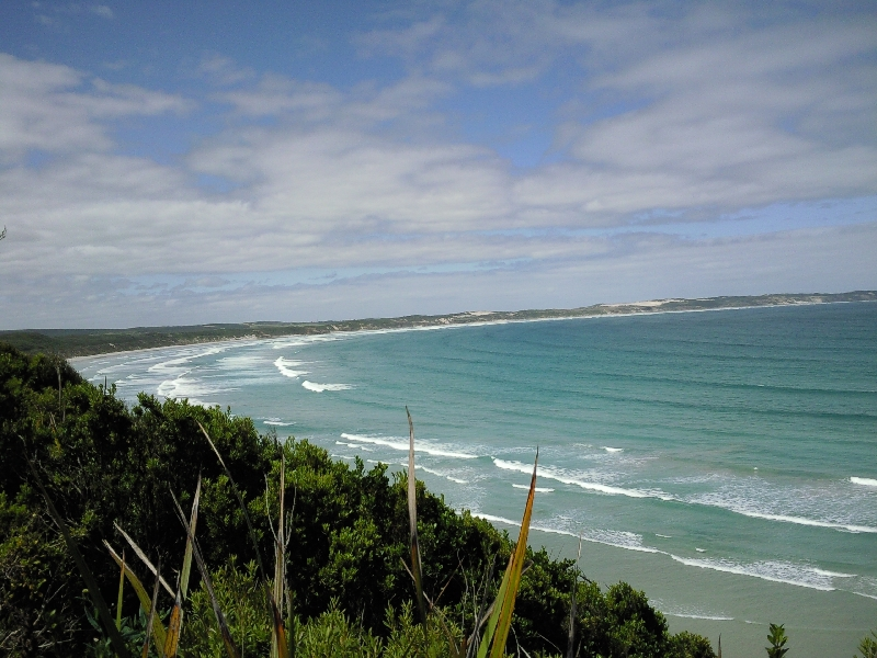 Overlooking Bridgewater Bay, Cape Bridgewater Australia