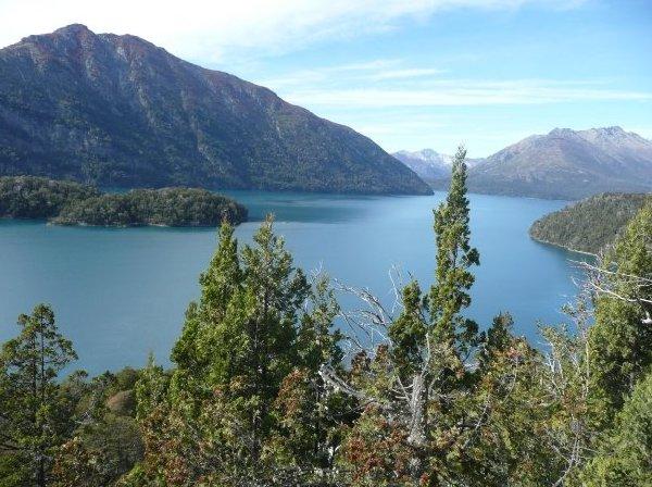 Nahuel Huapi Lake in Bariloche, Argentina