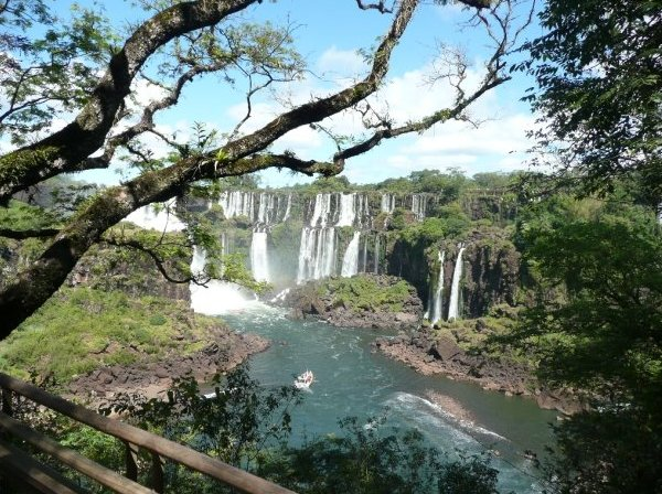 Pictures of the Iguazu Waterfalls, Argentina