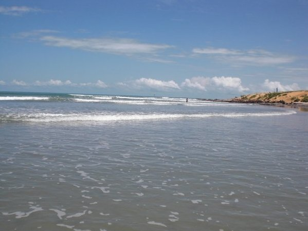 The ocean of Jijoca de Jericoacoara, Brazil