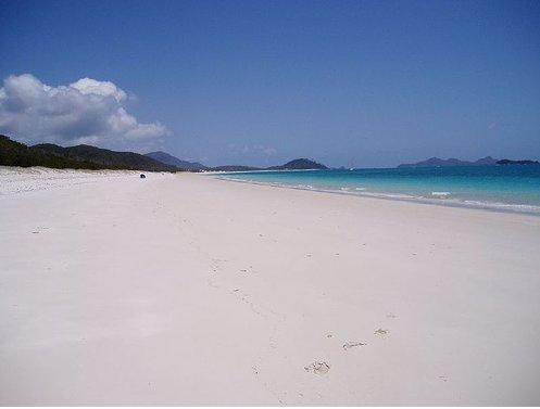 Whitehaven Beach, Whitsunday Island Australia
