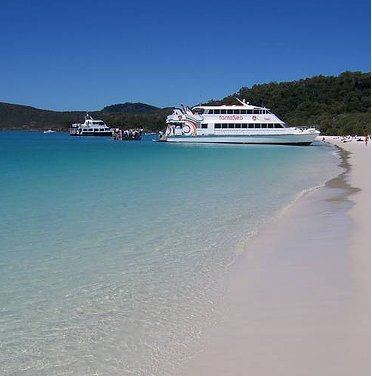 Fantasea Cruise Whitsunday Islands, Whitsunday Island Australia