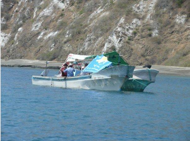 Boat trip to Isla de la Plata, Puerto Lopez Ecuador