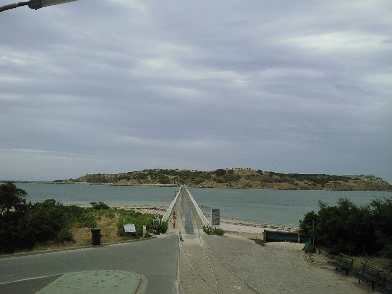 Looking over the other side of the bridge, Victor Harbour Australia