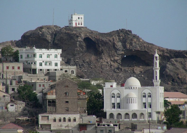 The Volcano city of Aden, Yemen, Yemen