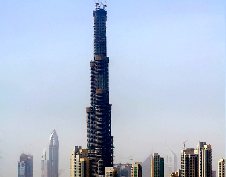 Burj Dubai, The world's tallest building, Dubai United Arab Emirates