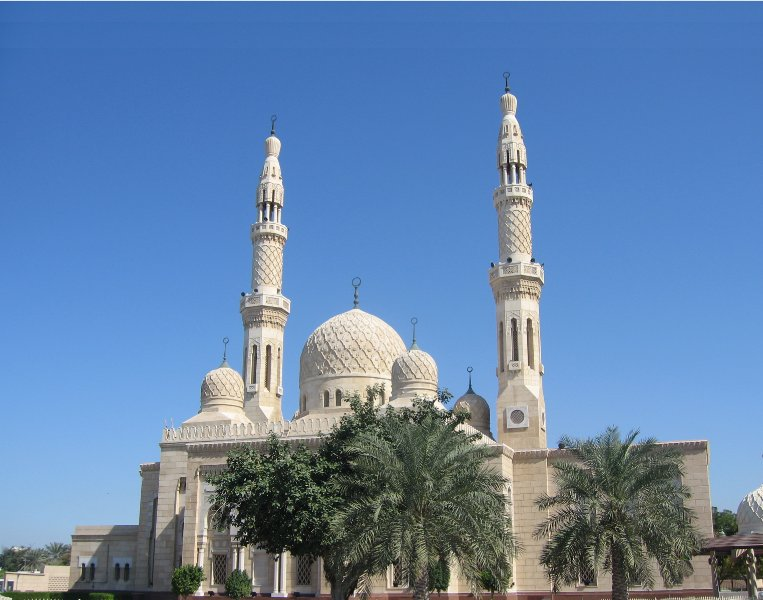 Dubai United Arab Emirates Jumeirah Mosque in Dubai