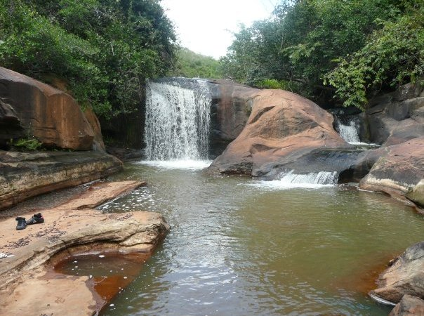 Waterfalls in Ubajara National Park, Brazil