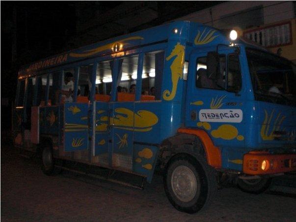 4x4 touring bus to Jeri, Jijoca de Jericoacoara Brazil