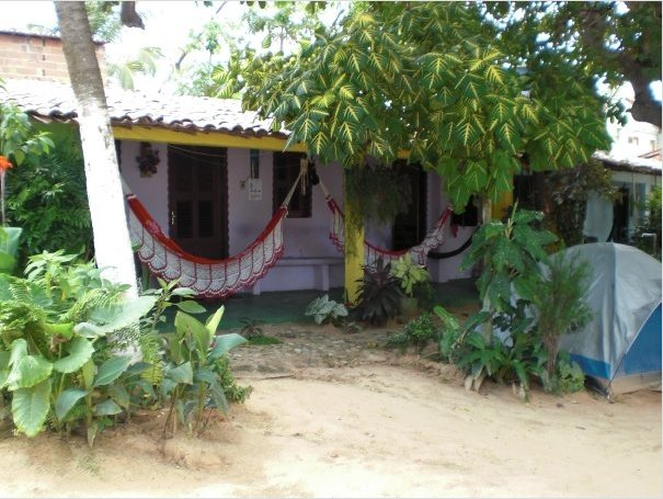 Our bush cabin in Jericoacoara, Brazil