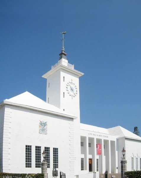 City Hall in Hamilton, Bermuda, Bermuda