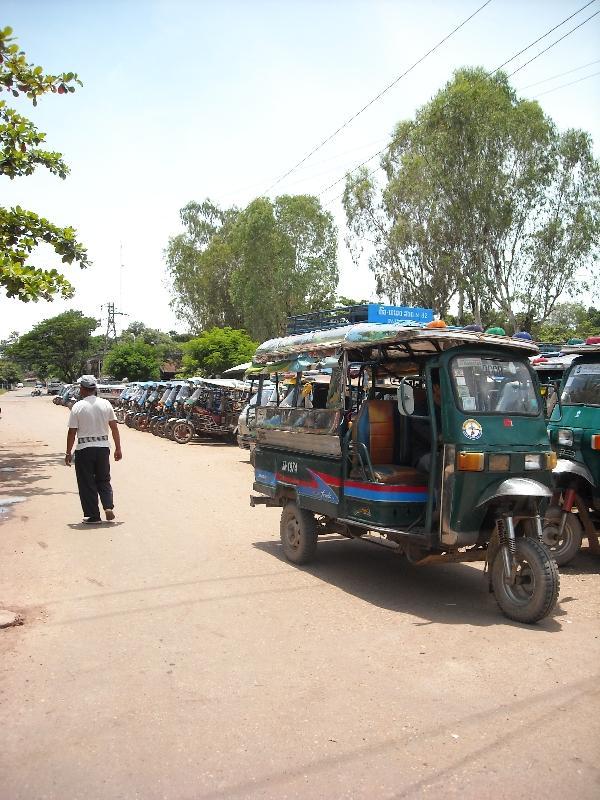 Tuk Tuk in Vientiane, Laos, Laos