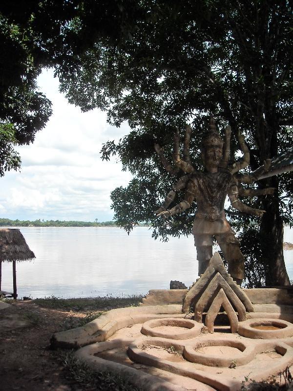 The Xieng Khuan Buddha Park, Vientiane Laos