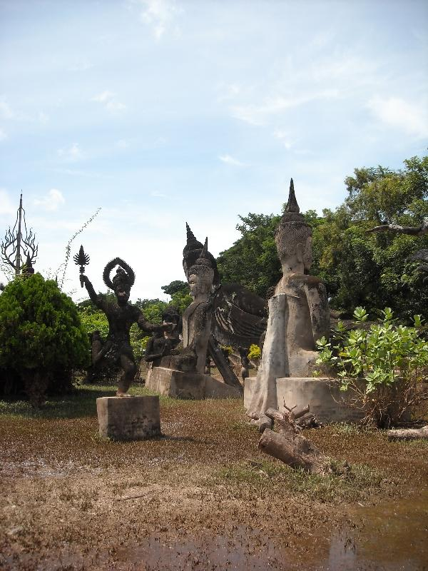 The Buddha Park in Vientiane, Vientiane Laos