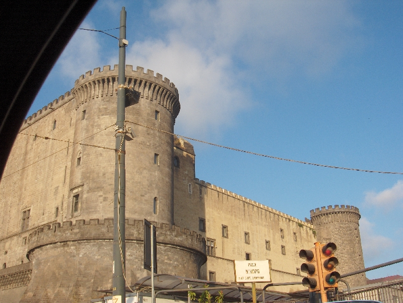 Photos of Castel Nuovo in Naples, Italy