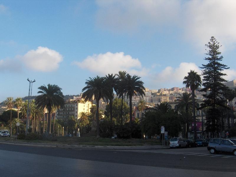 Piazza Vittoria in Naples, Italy