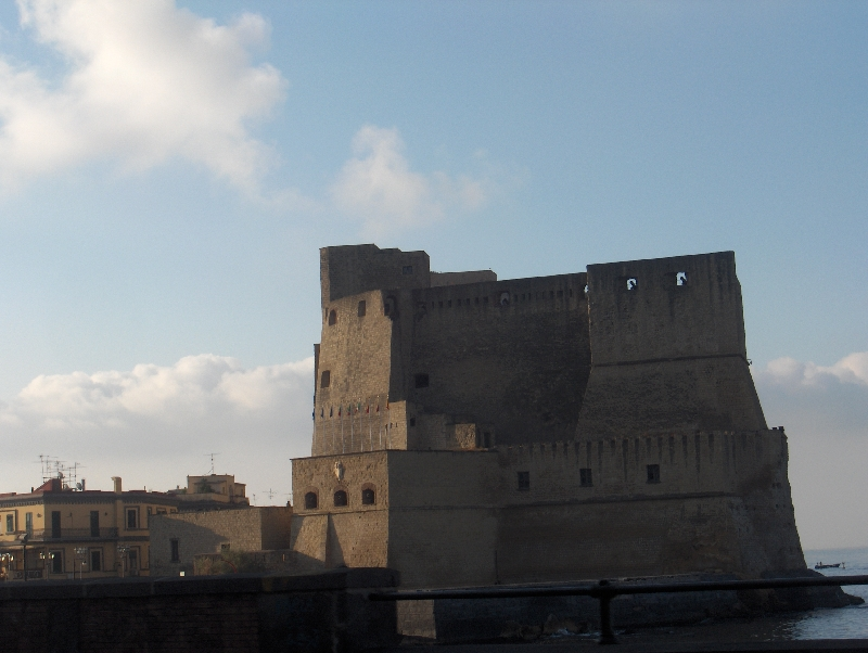 Pictures of Castel Nuovo in Naples, Italy