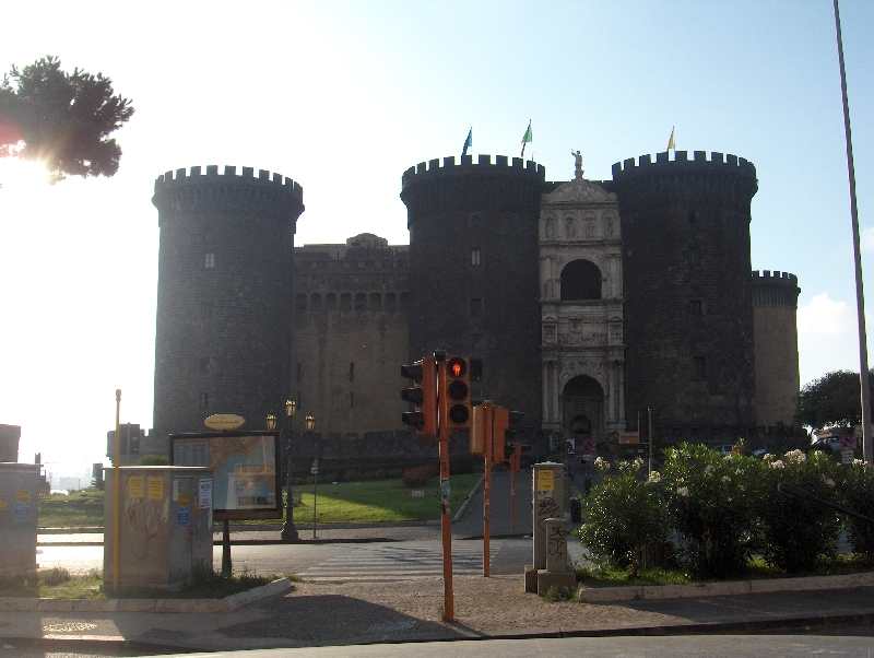 Castel Nuovo in Naples, Italy, Italy