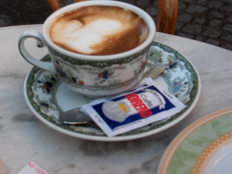 Neapolitan Coffee at Gambrinus, Naples Italy