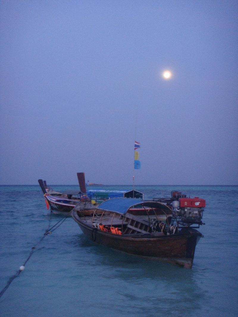 Ko Lipe by night is magical, Thailand