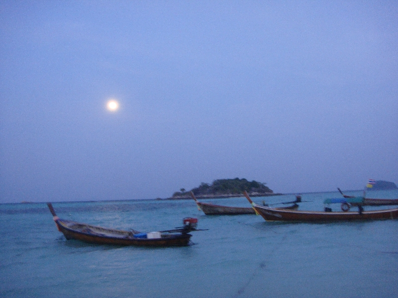 Sunset over Ko Lipe, Thailand