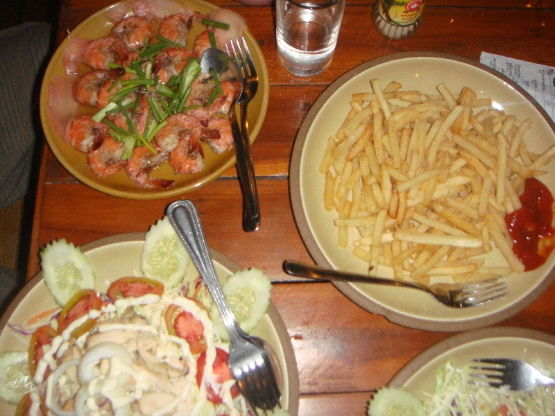 Good food at the Mountain Resort, Ko Lipe Thailand
