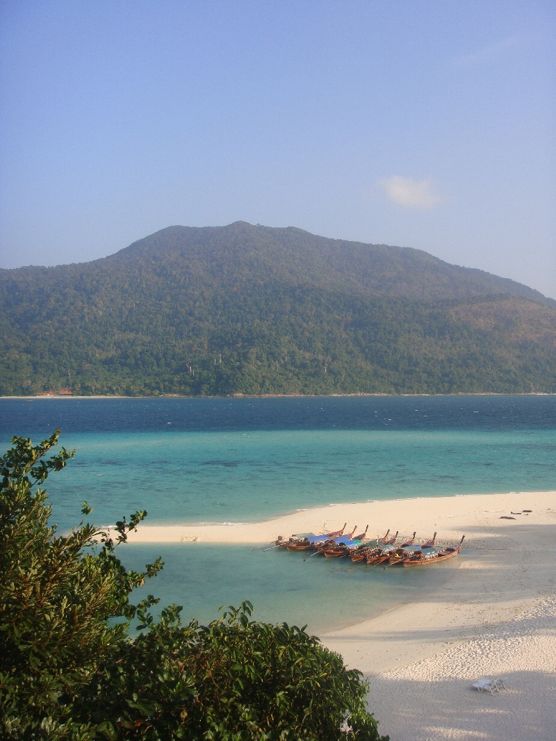 View from our cabin, Ko Lipe Thailand