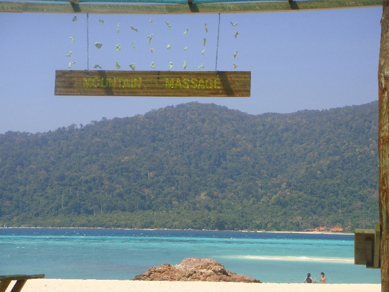 Thai Massage salon on the beach, Ko Lipe Thailand