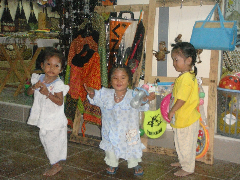 Dancing Kids on Ko Lipe, Thailand