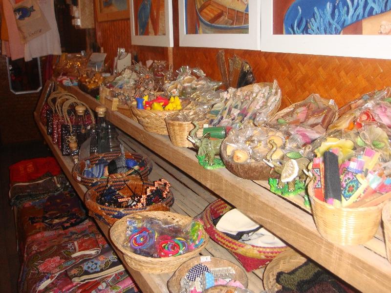 Nice souvenir Shops on Ko Lipe, Thailand