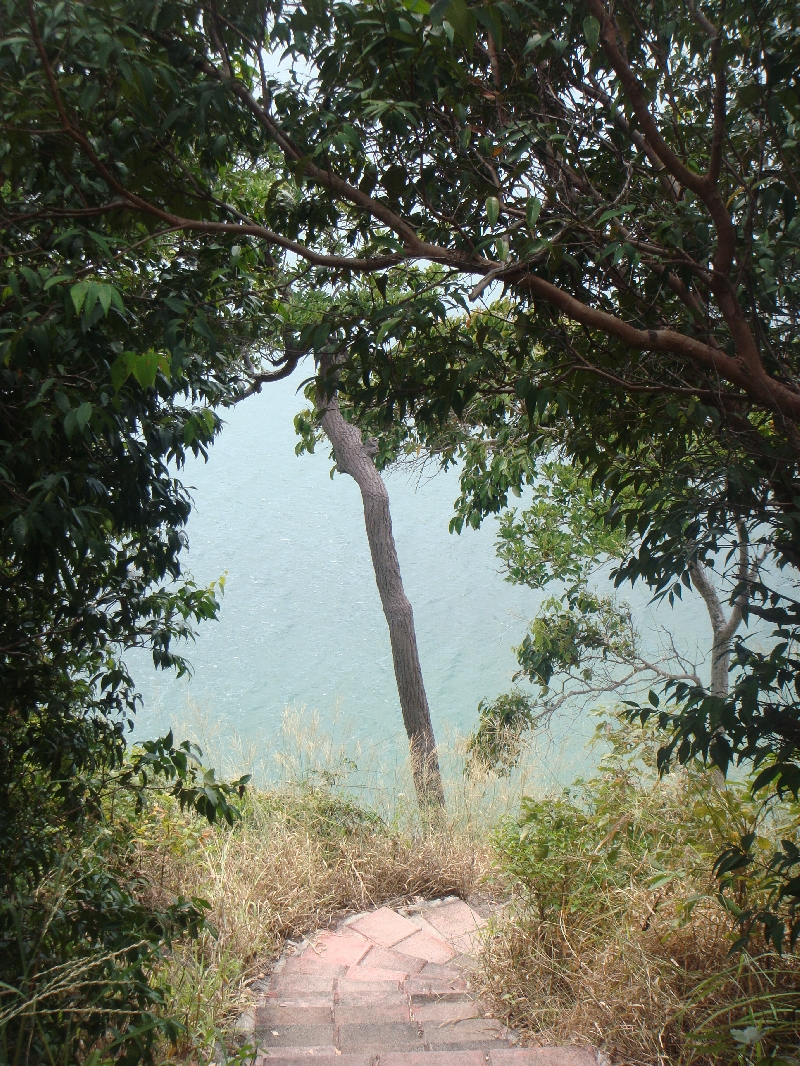Hiking on Ko Lanta, Thailand