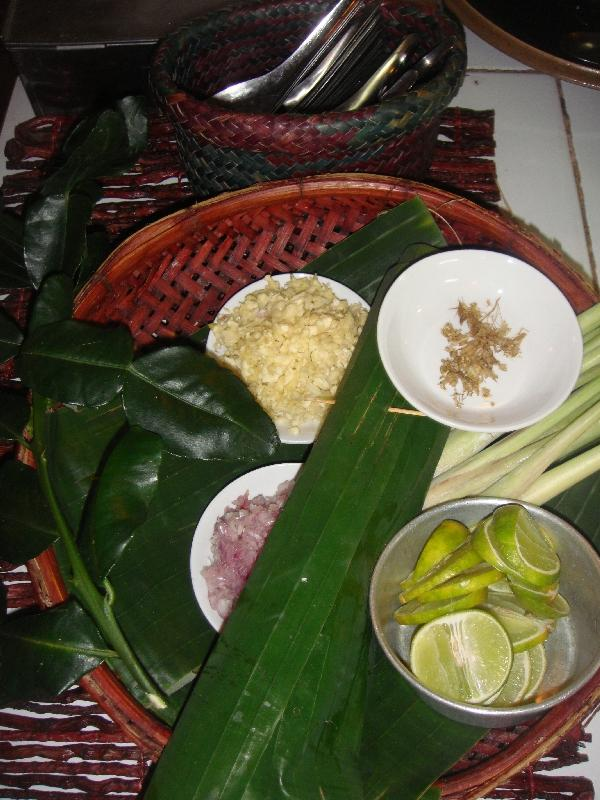 Ingredients at Time for Lime, Ko Lanta Thailand