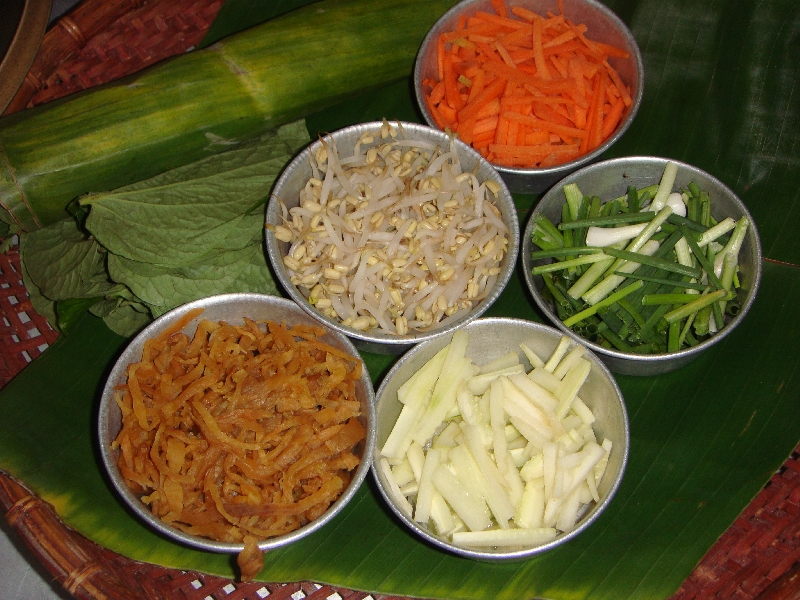 Fresh Ginger, Lemongrass and Carrots, Ko Lanta Thailand