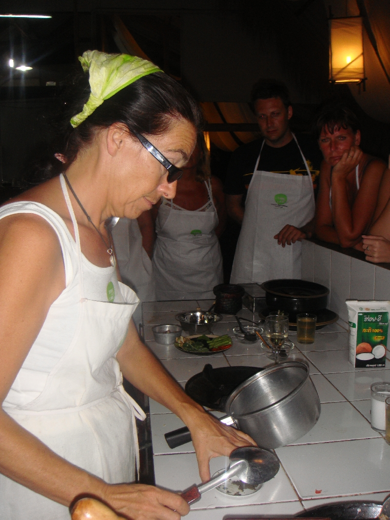Cooking class on Ko LantaINg, Thailand