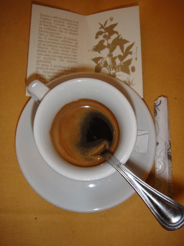 Castel Gandolfo Italy The best italian coffee (espresso) I ever had!