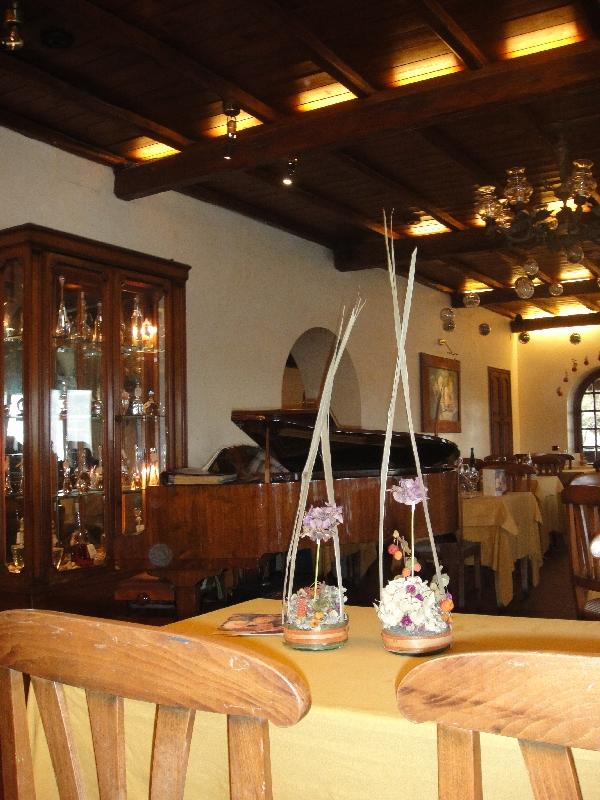 Inside the restourant, Castel Gandolfo Italy