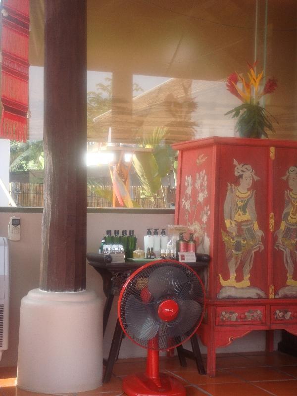 The hotel lobby in Nakhon pathom, Thailand