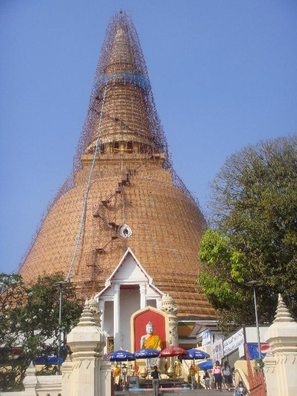The Phra Pathom in Nakhon Pathom, Thailand