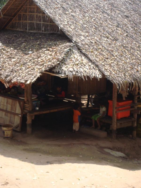 Rural Village in Kanchanaburi, Thailand