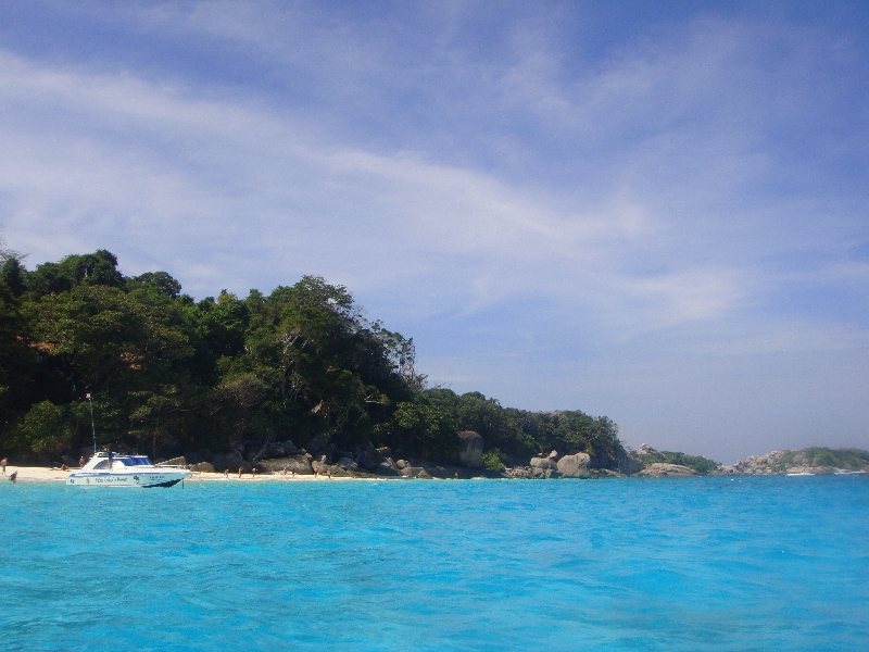 Great snorkelling water at the Similan, Ko Similan Thailand
