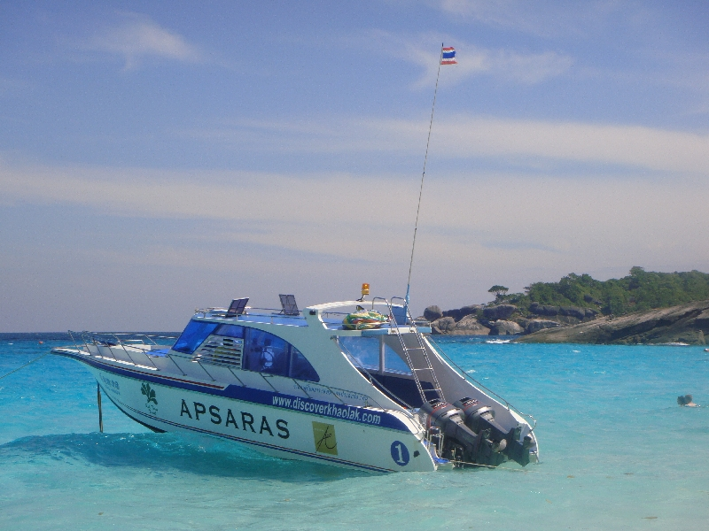 The Speedboat trip to the islands, Ko Similan Thailand