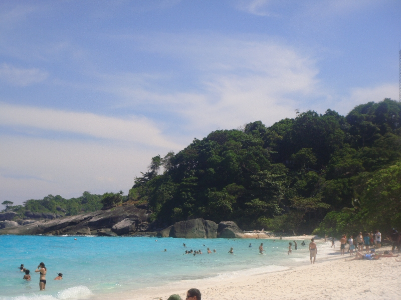 The daytrip to the Similan Islands, Thailand