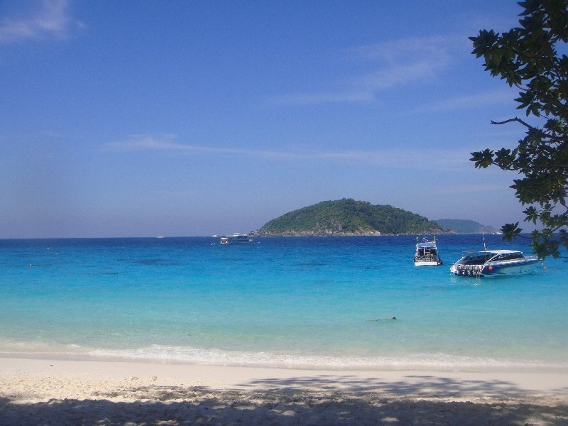 The beach on Ko SImilan, Thailand
